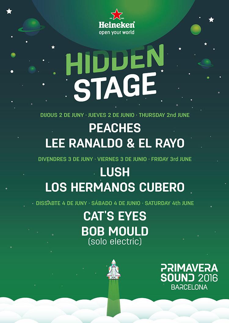 Hidden Stage @ Primavera Sound 2016