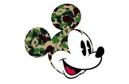 BAPE x Disney Team
