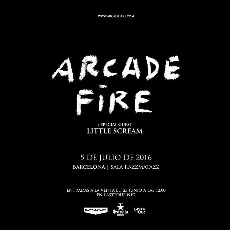 Arcade Fire @ Bilbao BBK Live 2016 (Barcelona)