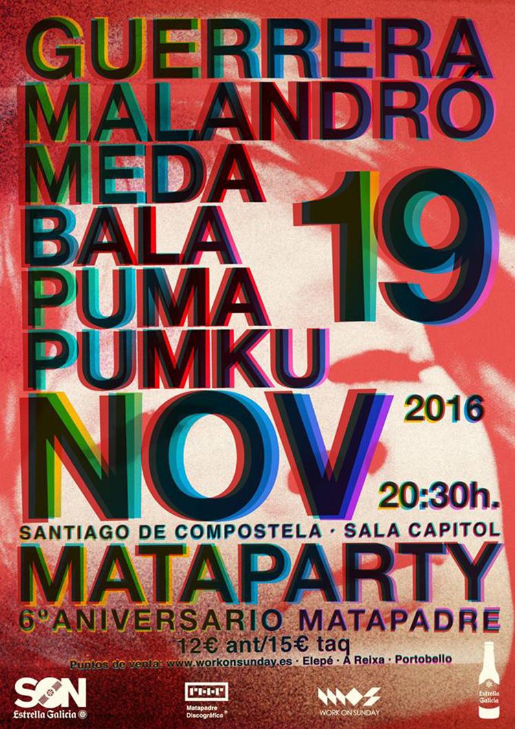 Mataparty 2016 (cartel)