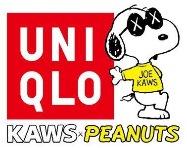 """""""Peanuts"""" Kaws x Uniqlo"""
