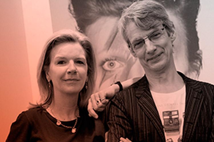 Victoria Broackes y Geoffrey Marsh